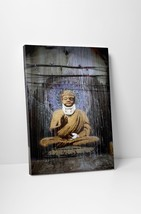 Banksy Injured Buddha Gallery Wrapped Canvas Print. BONUS BANKSY WALL DE... - $44.50+