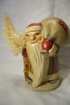 Vaillancourt Folk Art, Gnome Like Santa FC with  Bag signed by Judi! image 1