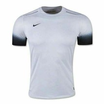 Nike Laser PR III SS Jersey Soccer Shirt Men's Medium White Black 725896... - $32.66