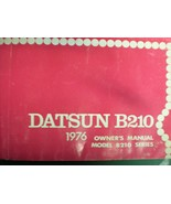 1976 DATSUN B210  OWNERS OPERATORS MANUAL - £12.82 GBP