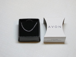 "Ladies Womens Avon Charm Holder Necklace 16"" 3"" extensio Necklace F3653191 NIP;; - $10.88"