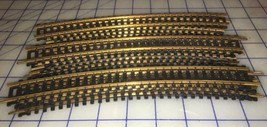 Lot of 14 HO Scale Curved Model Railroad Track - $9.89