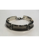 Tiffany & Co. 1837 Titanium and Sterling Silver link bracelet - $475.00