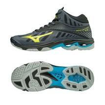 Mizuno Lightning Z4 MID Volleyball Badminton Shoes Unisex Dark Shadow V1... - $82.71