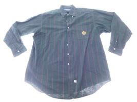 Ralph Lauren Mens Dress Shirt Size L Large Green Long Sleeve Button Down... - $18.80