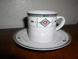 Studio Nova Adirondack Flat Cup & Saucer #Y2201 - $12.95