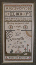 Joy In The Morning cross stitch chart Stitches Through Time  - $12.60