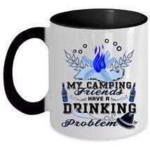 Funny Drinking Coffee Mug, My Camping Friends Accent Mug - $19.99+