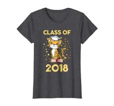 Tee shirts -  Cheetah Cat Zoo Animals Senior Class Of 2018 Shirt Gift Wowen - $19.95+