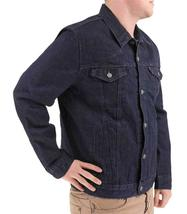Levi's Men's Premium Cotton Button Up Denim Jeans Jacket Dark Blue 723350039 image 4