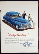 1947 Dodge Magazine Print Ad It's a Ship We're Buying - $9.90