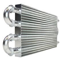 "3/8"" Universal Aluminum Transmission Oil Cooler 12-3/4"" X 5"" X 3/4"" image 6"