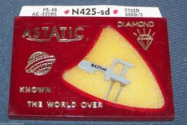 PHONOGRAPH RECORD PLAYER NEEDLE STYLUS Astatic N425-sd for Euphonics 254, 256 image 3