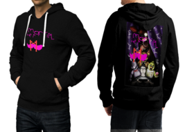 markiplier Black Cotton Hoodie For Men - $39.99