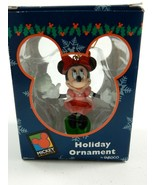 "Enesco Disney Minnie Mouse Serving Tea Coffee 3"" Ornament w/Box - $11.39"