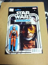 Star Wars #11 Luke Skywalker X-Wing pilot action figure variant - $3.95