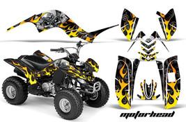 ATV Graphics Kit Quad Decal Sticker Wrap For Yamaha Raptor 80 02-08 MOTORHEAD K - $129.95
