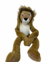 "Wild Republic Plush Long Leg Lion Hugging Hands 1999 Soft Stuffed Animal 16""  - $10.99"