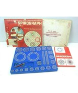 Vintage 1960s Kenner Spirograph Set Complete With Instructions Box top only - $17.75