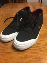 DC Shoes Men's High top Black Skate Shoes Size 10 D  New Casual Lace Up - $69.29