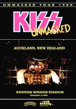 KISS Band UNMASKED Tour - Auckland New Zealand, Dec 03, 1980 - Stand-Up ... - $15.99