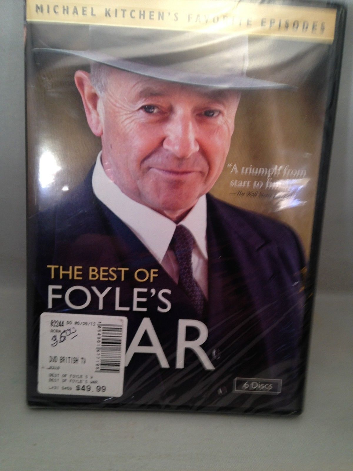 The Best of Foyle's War - 6 Discs DVDs New in Shrink Wrap
