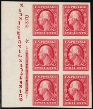 384, Mint Superb OG NH Plate Block of Six Stamps Cat $200.00 - Stuart Katz - $185.00