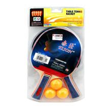 2 x Ping Pong Table Tennis Racket Paddle and 3 Balls Set - $18.95