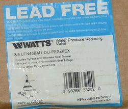Watts 3/4 Inch Water Pressure Reducing Valve LFN45BM1 Lead Free image 9