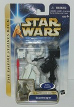 Star Wars Snowtrooper Battle of Hoth Figure 2003 HASBRO #85011, SEALED MIB - $19.34