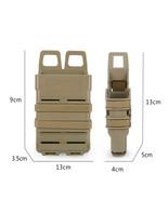 Vest Double Pocket Portable Outdoor Mini Pouch - Black - $18.22