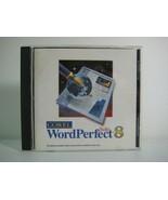 WordPerfect 8 Suite Corel Word Processing Software CD - $10.80