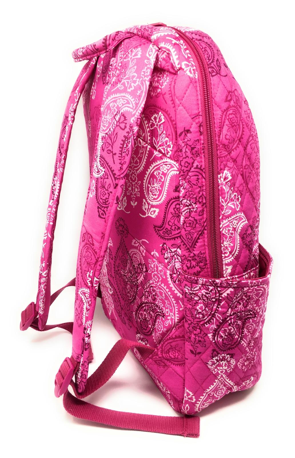 Vera Bradley Laptop Backpack - Stamped Paisley - NWT - $108 MSRP! image 4