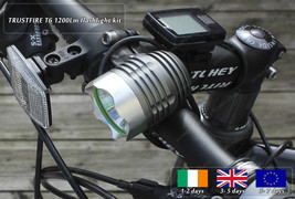Genuine TrustFire Cree LED Portable Xenon Bicycle DIY HID Torch Flashlig... - €50,34 EUR