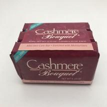 Vintage Cashmere Bouquet Mild Beauty Bar Soap Soft Skin NEW 4oz Lot Of 3... - $18.81