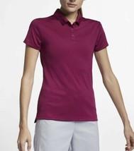 Nike Golf Dri-Fit PGA Tiger Style Polo True Berry Colorway 884871-627 XL NWT $55 - $44.10
