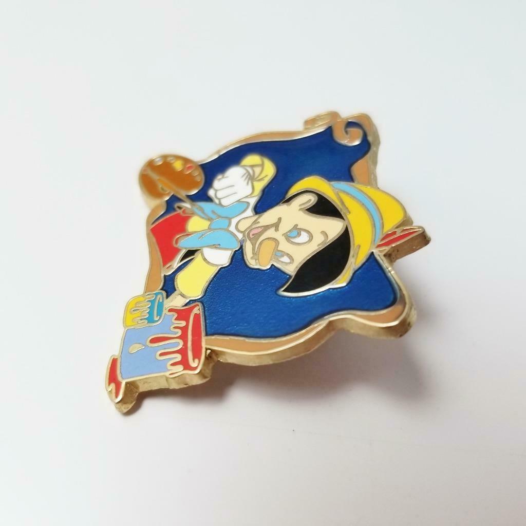 Disney Jerry Leigh Pinocchio Pin Designer Artist Pallette Paint Brush Framed