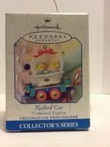 Hallmark Keepsake - Cottontail Express Flatbed Car -1999 - QEO8387 - Mint - $1.95