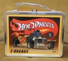 Hot Wheels T-Bucket Vintage Lunch Box 1998 - $15.00