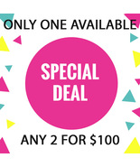 ONLY ONE!! IS IT FOR YOU? DISCOUNTS TO $100 SPECIAL OOAK DEAL BEST OFFERS - $200.00