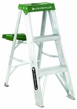 Louisville Ladder AS4003 225-Pound Duty Rating Aluminum Stepladder 3-Foot - $54.70