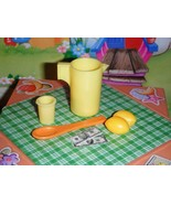 Barbie Lemonade Pitcher Lot Great for Lemonade Stand Play Food Accessori... - $5.93