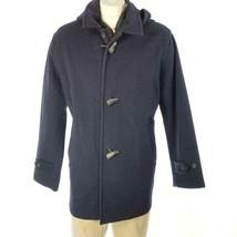 Vintage Polo Ralph Lauren Men's Toggle Coat Jacket Wool Sz L EUC - $132.99