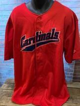 St Louis CARDINALS Baseball MLB 1999 Jersey Shirt Size XL - $22.27