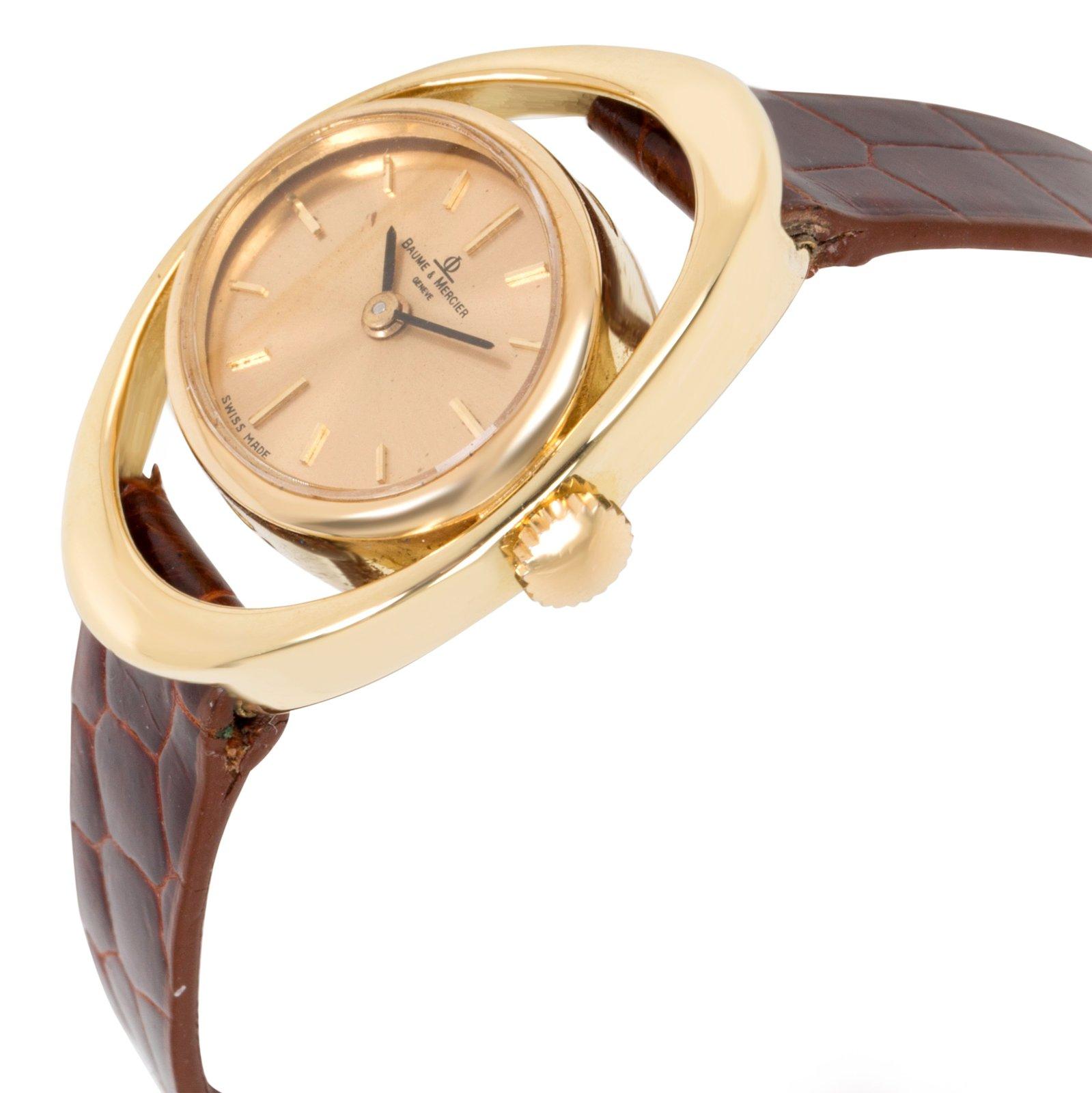 Baume & Mercier Vintage 36642.9 Ladies Watch in 18K Yellow Gold image 3