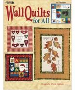 12 Wall Hanging Quilts Wildlife Nursery Christmas Halloween Sew Sampler ... - $13.99