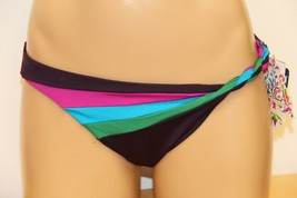 New Becca Swimsuit Basic Fit Bikini Bottom Sz XS PLU Multi - $11.55