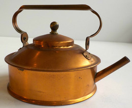 COPPER COLLECTION-COFFEE POTS-MARKED JAPAN-SILENT BUTLER-TEA KETTLE & TI... - $95.00