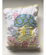 Vintage House of Hatten Wind Up Music Box Nursery Lullaby Small Hanging Pillow - €31,16 EUR