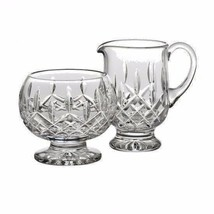 Waterford Lismore Footed Sugar & Creamer # 9623180004 Brand New - $176.72